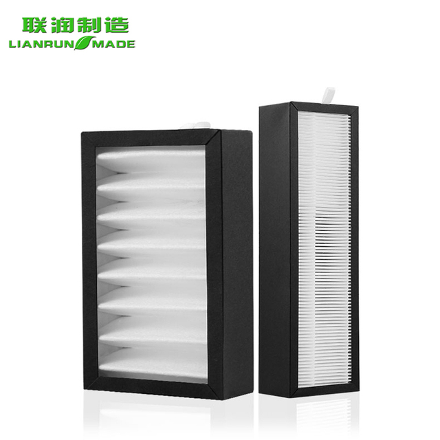 Ventilation Used Activated Cartoaluminum Frame Carbon Panel Filter