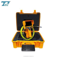 Handheld Video Snake Endoscope Inspection Camera with 40m Cable TEC710DLK-SCJ