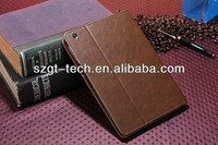 New Design PU Leather Stand Case for iPad Mini 2 Case Cover
