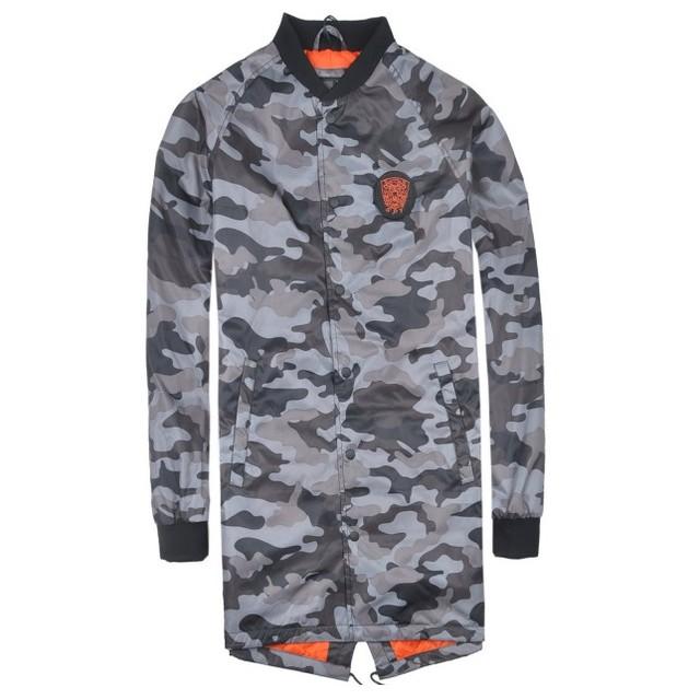 2018 Latest Modern Camouflage Windproof Woodland Winter Men Jacket