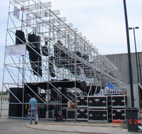 Hot Sale Layer Truss For Line Array Speaker