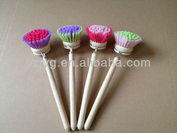 FSC wooden handle kitchen cleaning dish brush