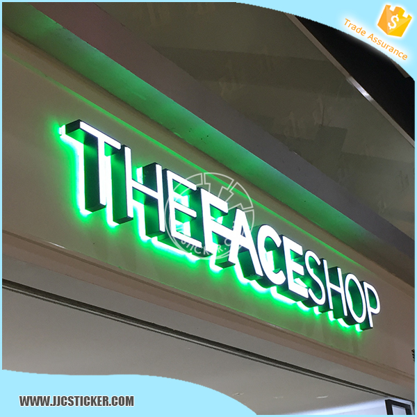 Outdoor led letter, Waterproof illuminated letter, Good price authorize letter
