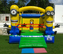Happy hot sale Inflatable minion Bouncer/inflatable bouncers minion jumping castle for sale/inflatable bouncer minion theme