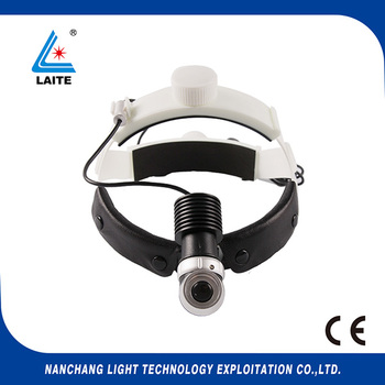 Rechargeable LED HeadLight with medical Examination Loupe Light 5w