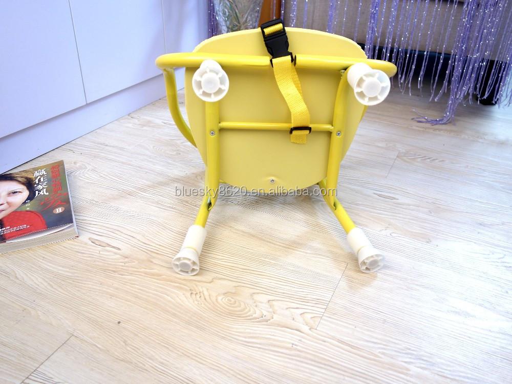 Impression de dessin animé En Métal Bébé Assis Chaise avec Sifflet