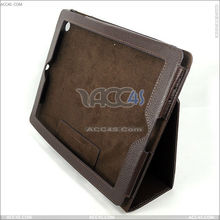 Litchi Pattern Right Open Handbag Leather Case for Apple New iPAD 3 P-iPAD3CASE005