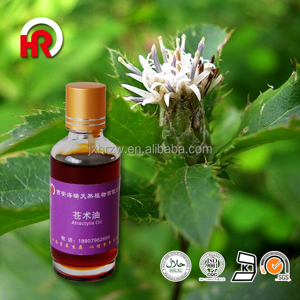 OEM/ODM Supply Type and Pure Essential Oil Type Skin Whitening Essential Atractylis Oil