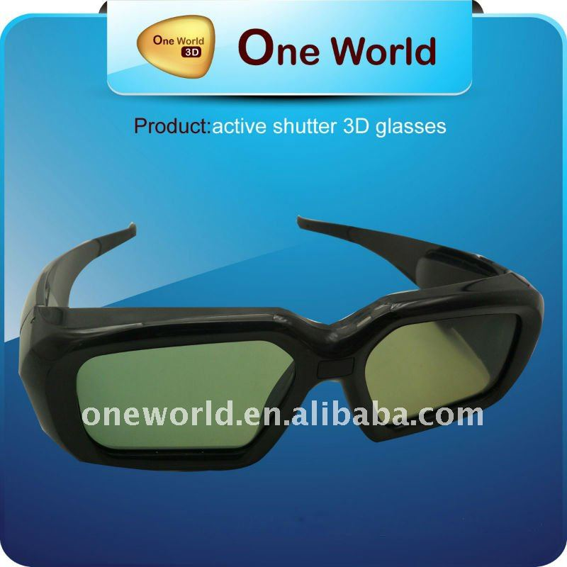 3d dlp link glasses Compatible with all brands DLP 3D Projector and DLP 3D TV