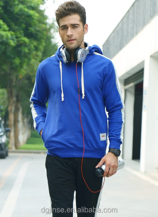 The new autumn cotton mens leisure sports jogging pullover hooded fleece