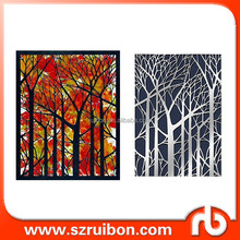 Bare tree stencils for oil painting-Reusable Drawing Stencils- Use on Walls, Floors,Fabrics, Glass, Wood, Cards, and More