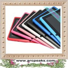 most affordable capacitive super thin 7 inch Q88 7 inch touch screen tablet pc m706