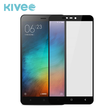 KIVEE Custom 0.33mm 9H Hardness Tempered Glass Screen Protector Film For Xiaomi Redmi Mi Note 3