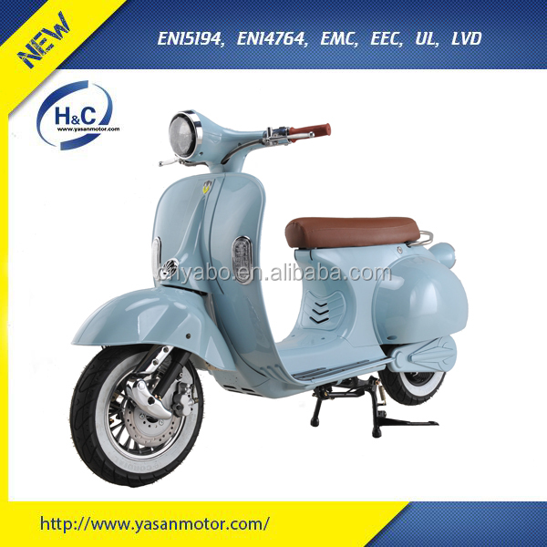 EEC 1500W vintage vespa new scooter price for sale