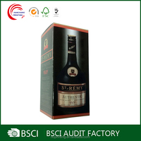 Luxury cardboard wine gift boxes wholesale