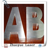 laser cutting decorative metal letters and number