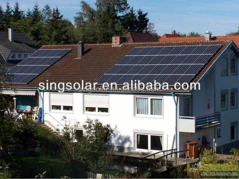 energy saving 1kw mini projects solar power generation systems with CE TUV