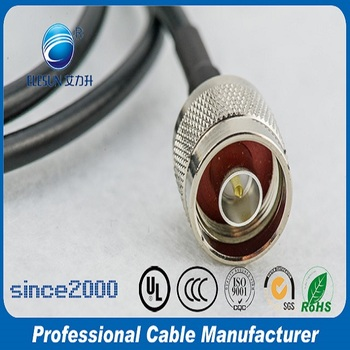 Lower price LMR300 cable assembly N male connector coaxial cable