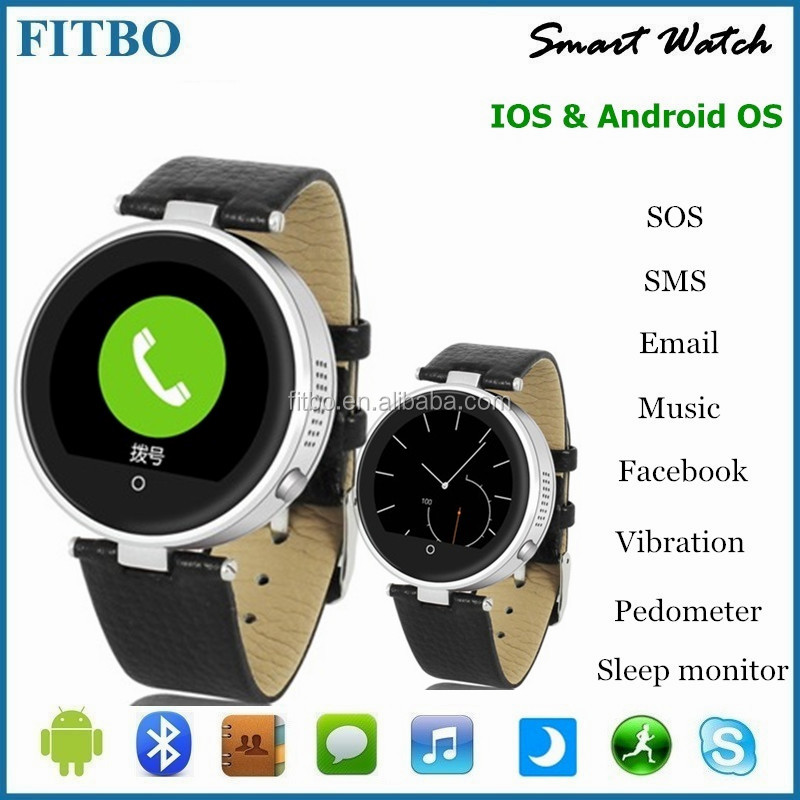Bluetooth 4.0 + SIM/TF new model watch mobile phone for Nokia/Huawei