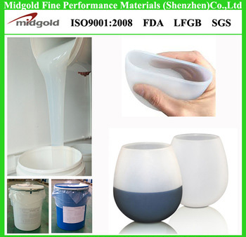 mask making midgold liquid silicone rubber with high transparency