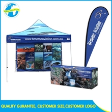 Commercial Advertise Aluminum Eco Friendly Exhibition Stand Hot Sale Custom Ez Tent