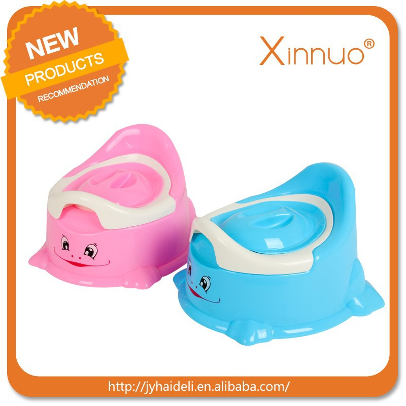 Colorful safety plastic baby potty seat newborn baby products