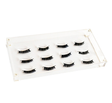 M&E Excellent Quality Acrylic Eyelash Extensions Case Tray Display For Salons