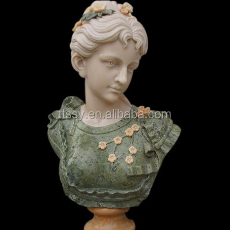 sculpture custom marble bust