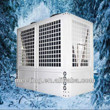 Meeting commercial air to water heat pump EVI 72kw work in -25 degree to 40 degree air conditioner