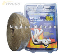 High Temperature Exhaust Insulating Warp Thermal Wrap