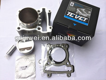 High quality ceramic motorcycle cylinder kit with forged piston for LC135,JUPITER MX135 62MM,65MM