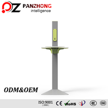 Wireless Shopping Mall Mobile Phone Charger Station with Antirust