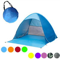 Wholesale automatic anti UV beach camping tent for hiking
