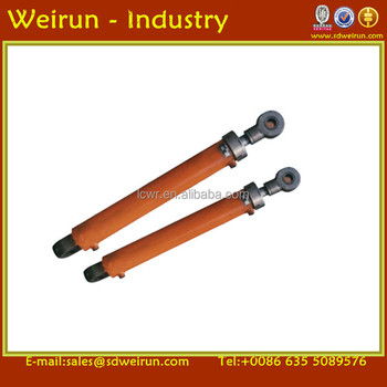 double acting long stroke hydraulic cylinders for tractor loader