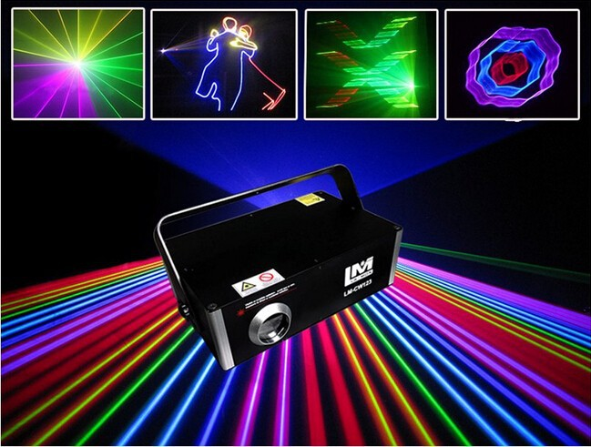 advertising machine 3D effect ILDA 1000mw rgb animation laser