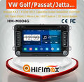 Hifimax S160 series vw touran android car dvd/vw golf 5 car multimedia android 4.4.4 HD 1024*600 with 4 Core CPU