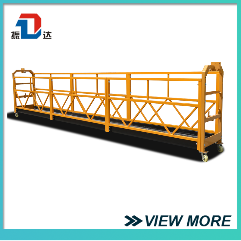 Custom Made Curtain Wall Cleaning Machine Suspended Platform