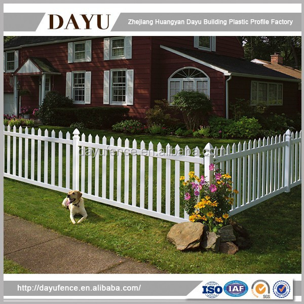 Quality Plastic Products Cheap Temporary Picket Fence