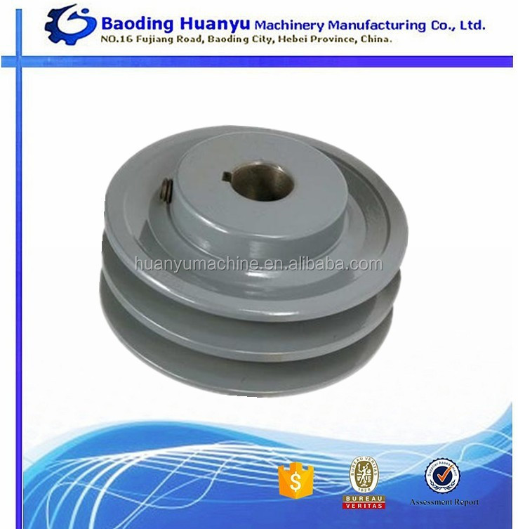 China cast iron type a v belt pulley