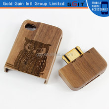 Cell Phone Case For iPhone 4,4S Wooden Case