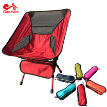 Lightweight Portable Chair Outdoor Fishing Bed Chair-Folding Backpacking Camping Kids Moon Chair