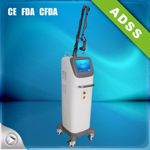 co2 fractional laser black spot removal from face