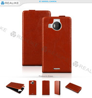 2016 new china products luxury premium leather flip cover case for nokia lumia 950xl