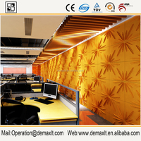 storefront decoration 3D wall panel