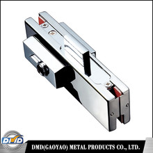 Safety stainless steel patch fitting lock for frameless glass door