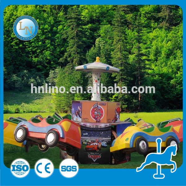 Amusement park items ride cars kids swing set mini jumping car