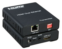 HDMI over Extender 120m HDMI Matrix Extender over IP with IR control Support UTP multipoint to multipoint