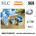 Round Outdoor Sofa Bed Rattan Sofa Bed (SC-B5516)