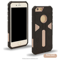 2016 NEW Armor 2 in 1 Double Color Design PC+TPU Hybrid Cool Back Case Cover for iPhone 6 4.7 inch
