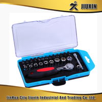 40pcs wholesale professional tools set in plastic box
